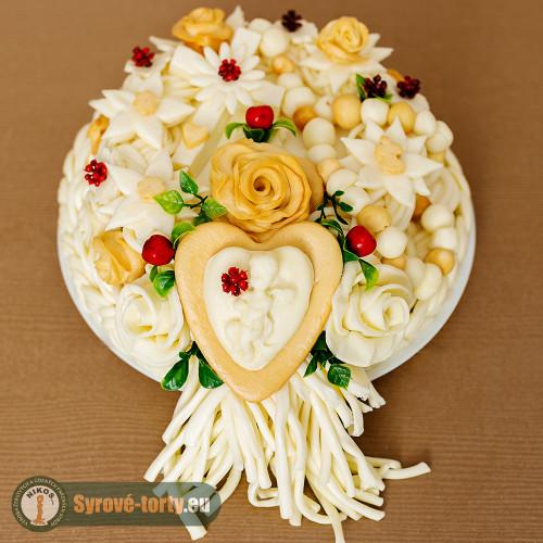 Syrová torta s anjelikom (malá)