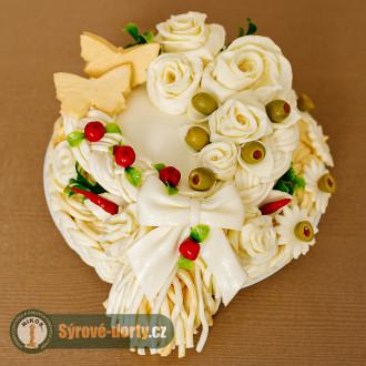 Syrová torta jednoposchodová (malá)