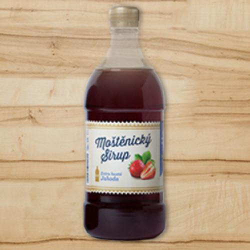 Moštěnický sirup - jahoda extra hustý
