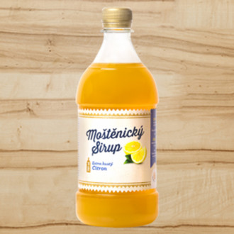 Moštěnický sirup - citrón extra hustý