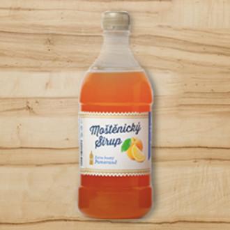 Moštěnický sirup - pomaranč extra hustý